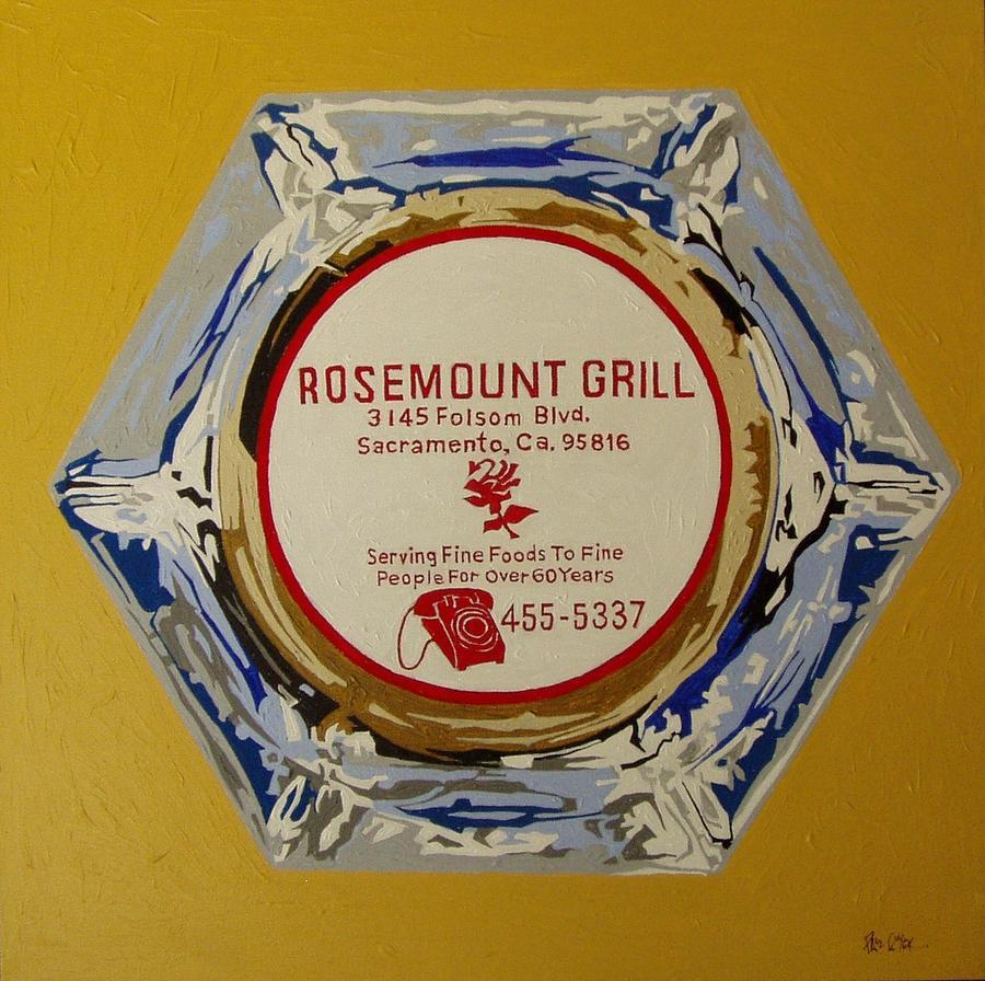 Sacramento Painting - Rosemount Grille by Paul Guyer