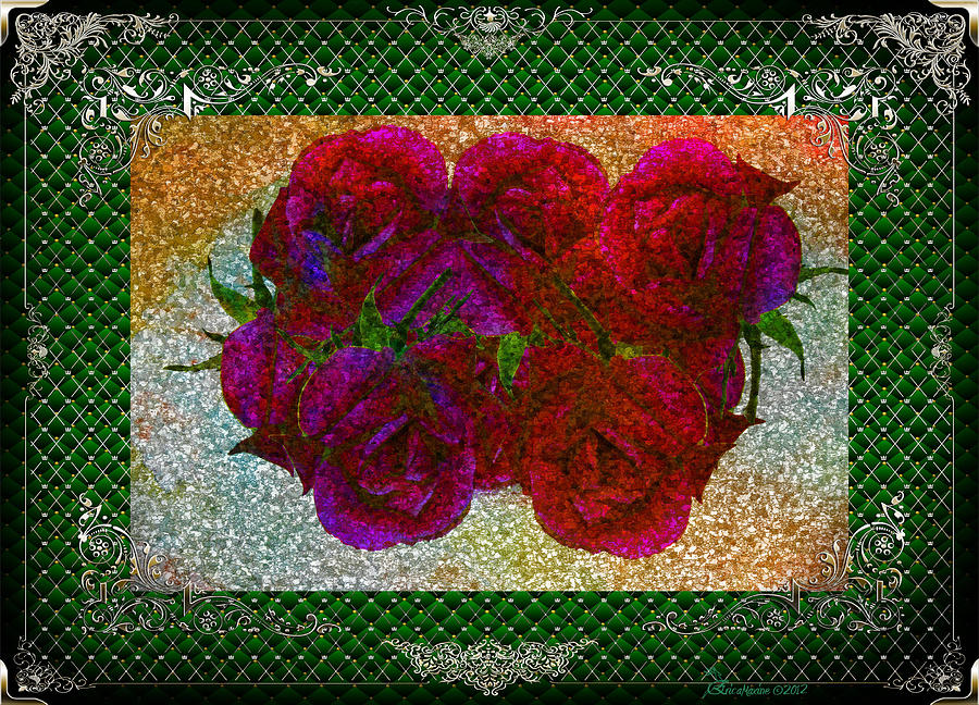 Rose Photograph - Roses- Featured In Beautiful Roses And Comfortable Art Groups by EricaMaxine  Price
