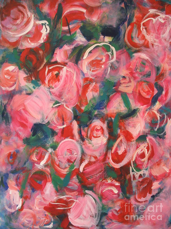 Roses by Fereshteh Stoecklein