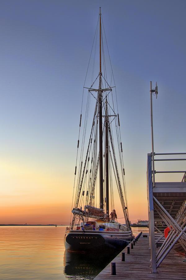 Sailing Photograph - Roseway by Joann Vitali