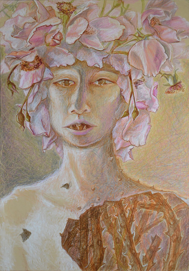 Rosewoman Painting by Nancy Mauerman