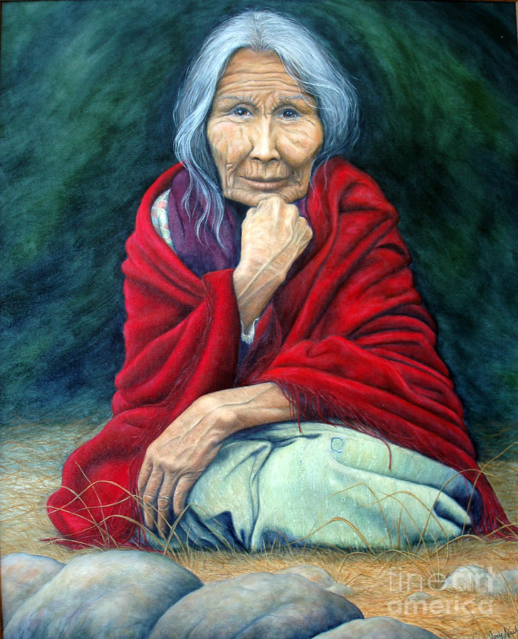 Native Painting - Rosie Remembered by Joey Nash
