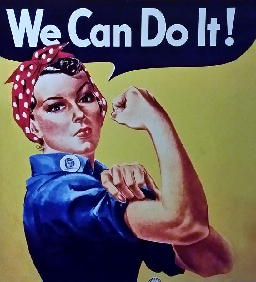 Rosie The Riveter Photograph - Rosie by Rob Hans