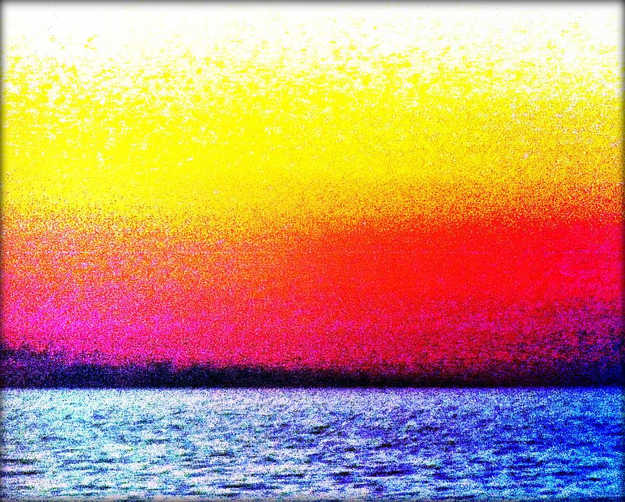 Mark Rothko Photograph - Rothkos Sea #3  by Stefano Filesi