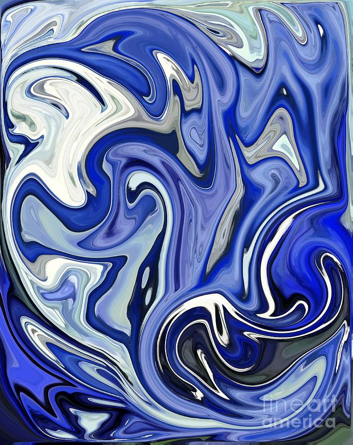 Rough Seas Digital Art - Rough Seas by Chris Butler