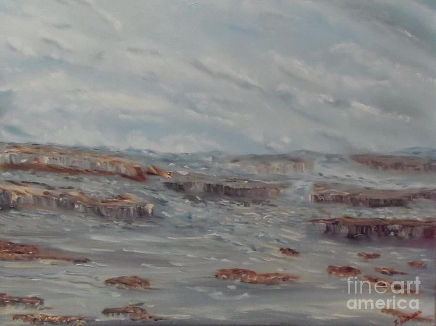Seascape Painting - Rough Seas by Isabel Honkonen