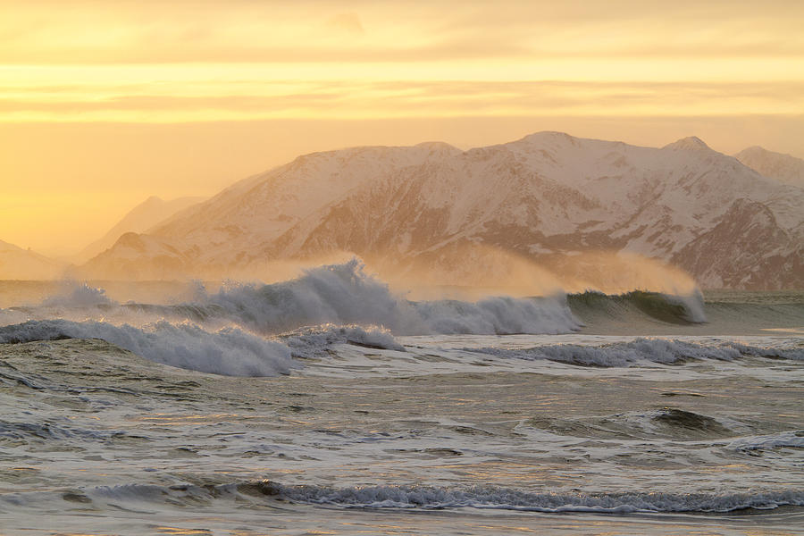 Alaska Photograph - Rough Seas by Tim Grams