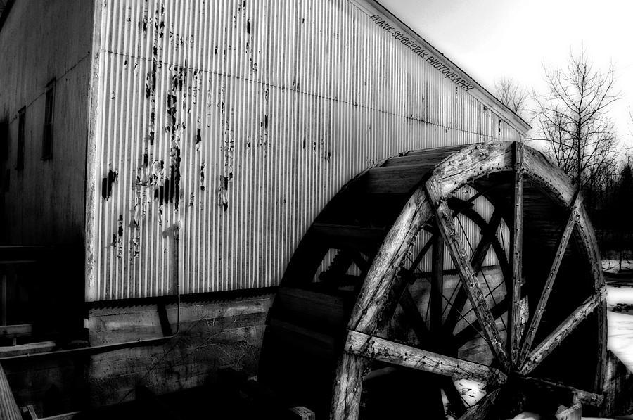 Wheels Photograph - Round And Round by Frank Sciberras