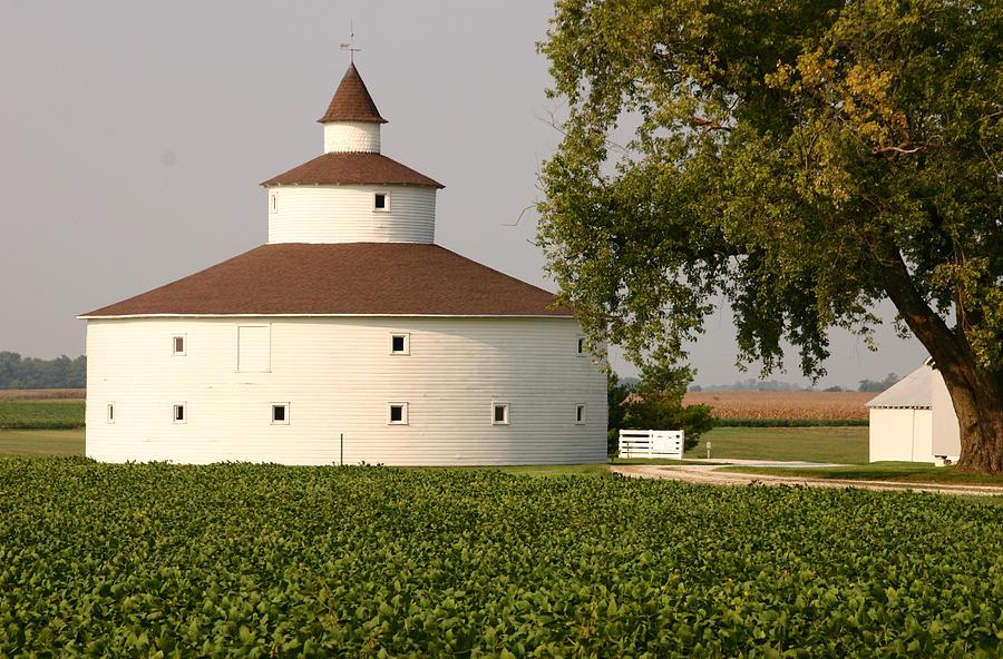 Round Barn Photograph