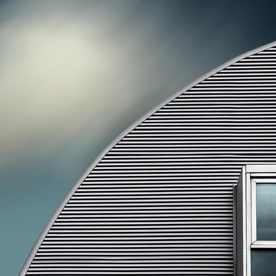 Architecture Photograph - Rounded Roof by Gilbert Claes