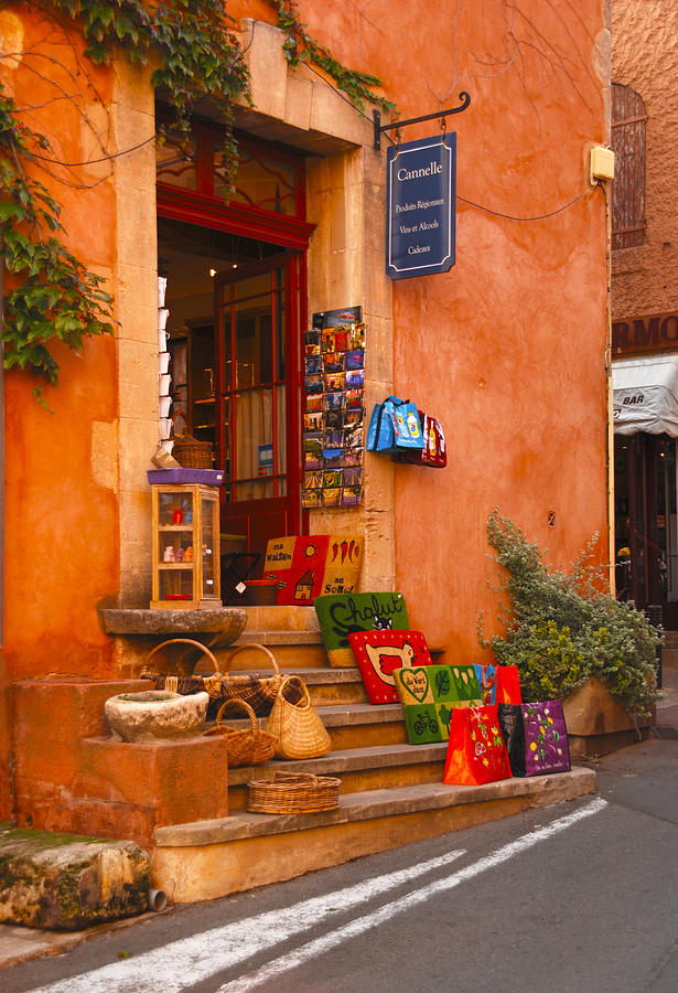 Roussillon France Candle Shop by Pristine Images
