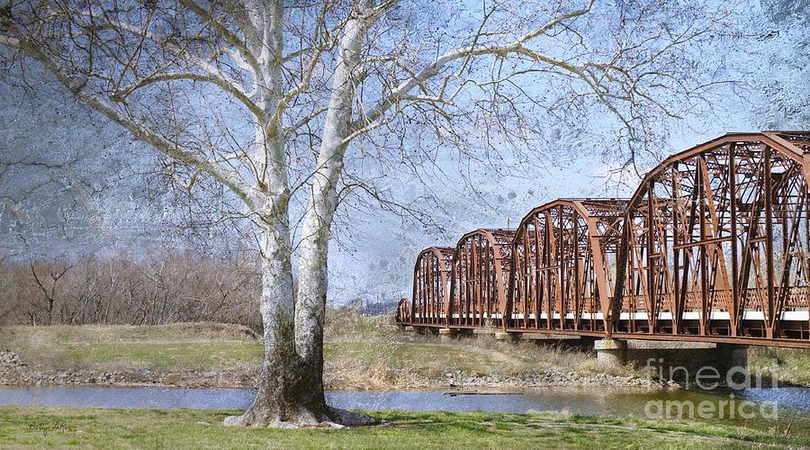 Route 66 Bridge by Betty LaRue