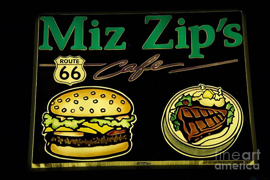 Classic Car Photograph - Route 66 Miz Zips by Bob Christopher