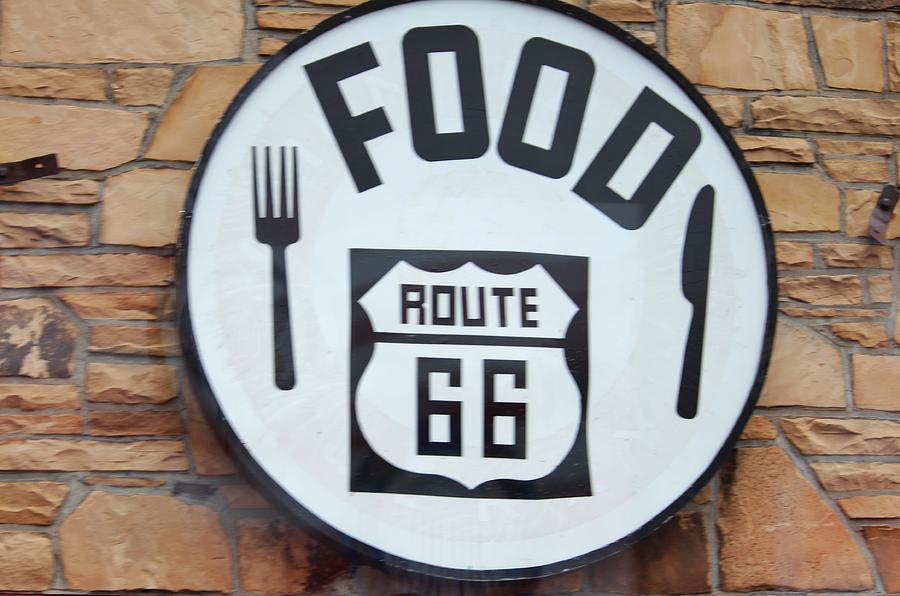 Route 66 Photograph - Route 66 Restaurant  by Cynthia Guinn
