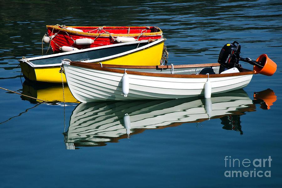 Row Boats Photograph - Row-boats by Susie Peek