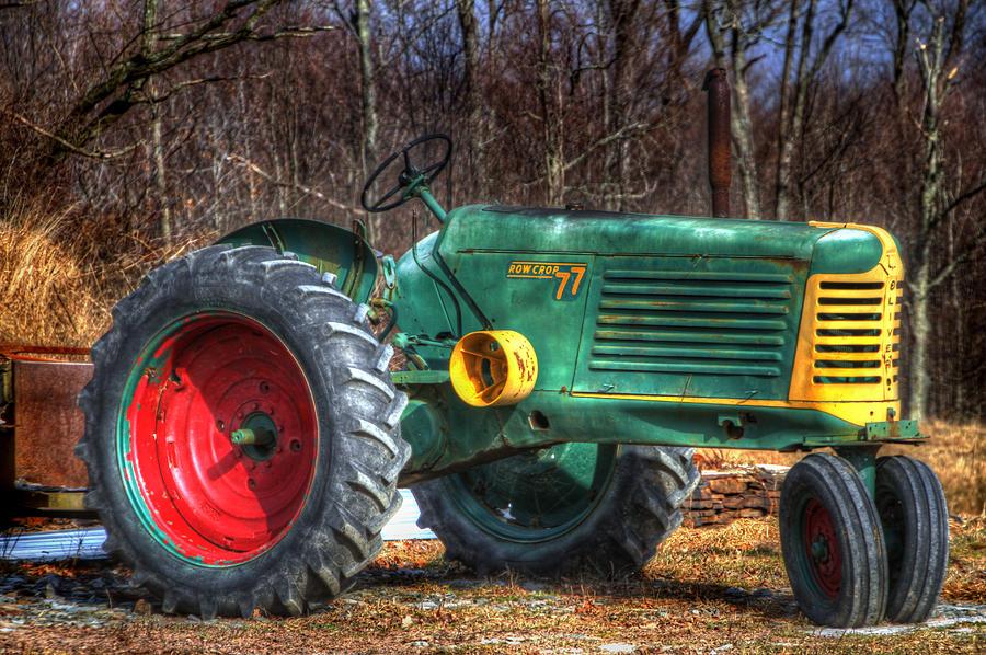 Tractors Photograph - Row Crop 77 by David Simons