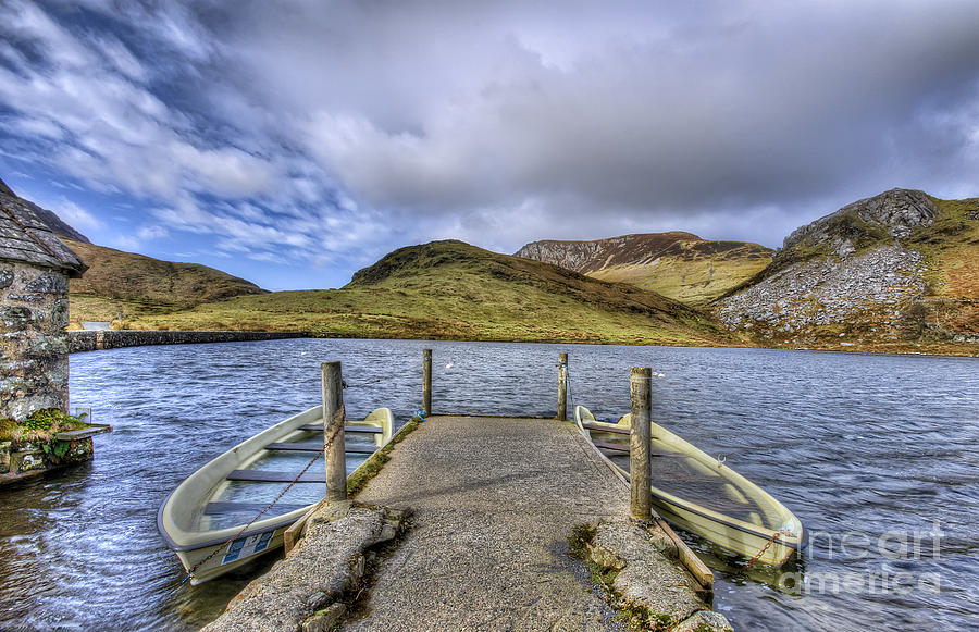 Dingy Photograph - Row Ya Boat  by Darren Wilkes