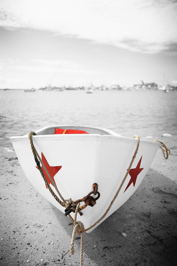 Rowboat Boat by Dapixara Art