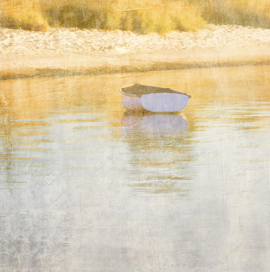Boat Photograph - Rowboat In The Summer Sun by Carol Leigh