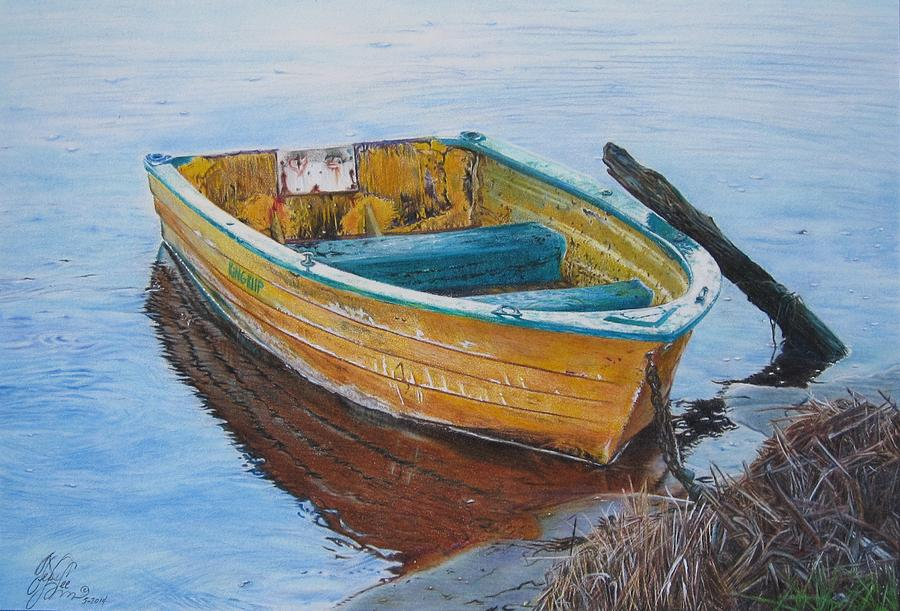 Rowboat Tranquility by Tess Lee Miller