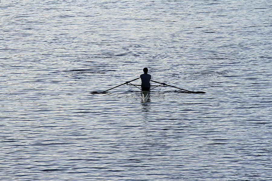 Rower Photograph - Rowing by Juergen Roth