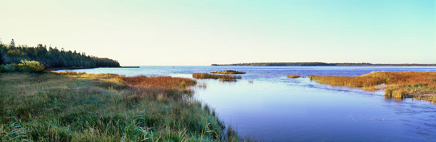 Horizontal Photograph - Rowleys Bay, Newport State Park, Door by Panoramic Images