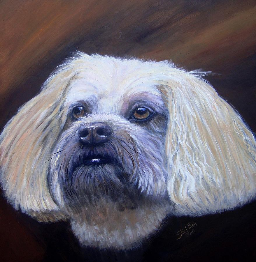 Animal Painting - Roxanne by Shirl Theis