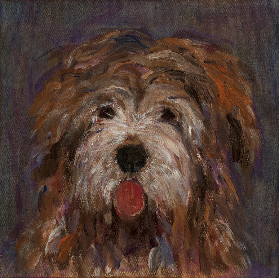 Roxy Painting by Ellin Blumenthal