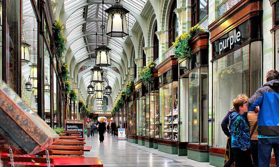 Royal Photograph - Royal Arcade by Pedro Fernandez