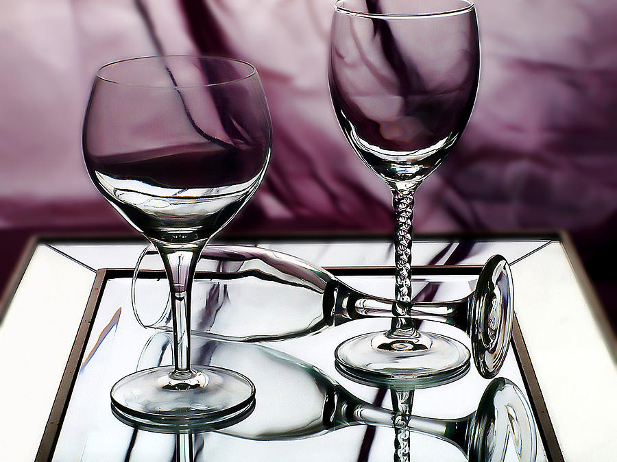 Glass Photograph - Royal Glass by Camille Lopez