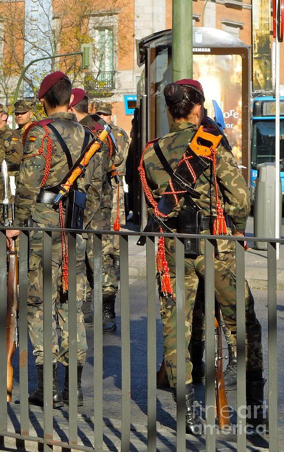 Guard Photograph - Royal Guard by KD Johnson