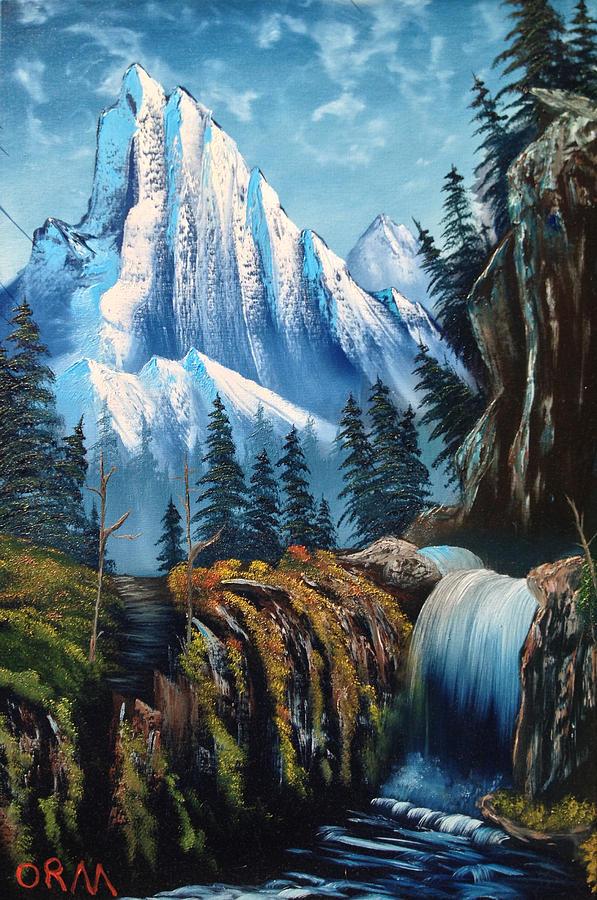 Landscape Painting - Royal Majestic by Koko Elorm