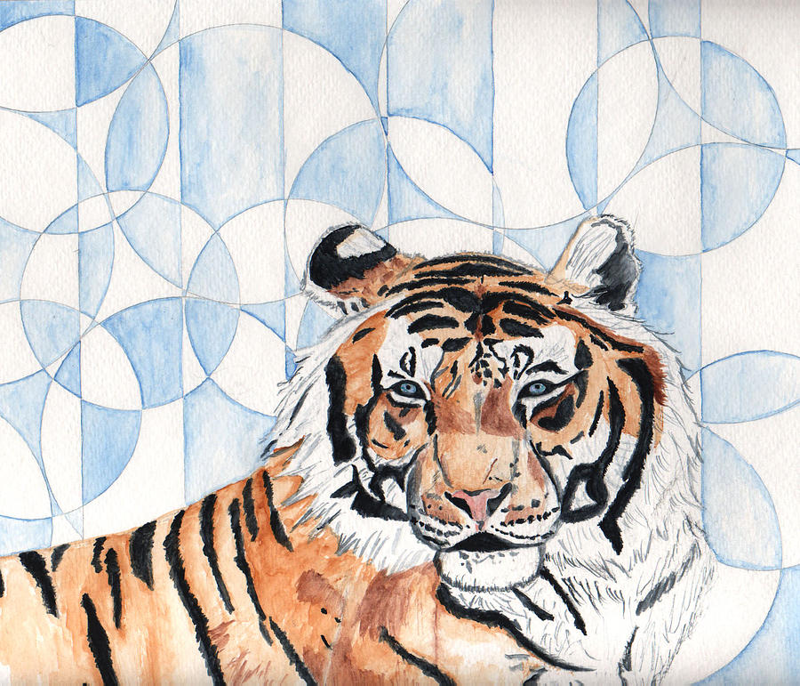 Tiger Painting - Royal Mysticism  by Crystal Hubbard