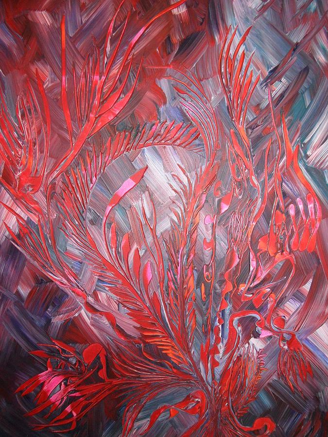 Nico Painting - Royal by Nico Bielow