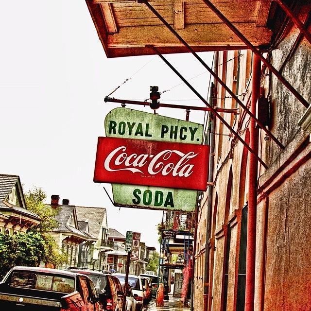 Hdr Photograph - Royal Pharmacy  by Scott Pellegrin
