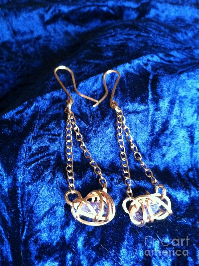 Earrings Jewelry - Royal Reflections by Tina Beal