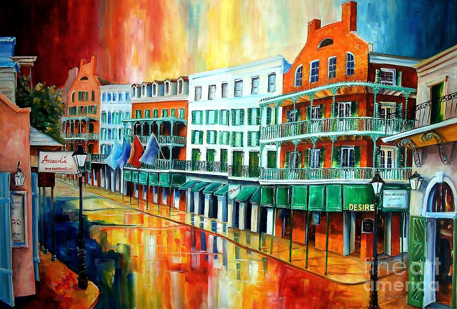 Royal sonesta new orleans painting by diane millsap for Designhotel jaz