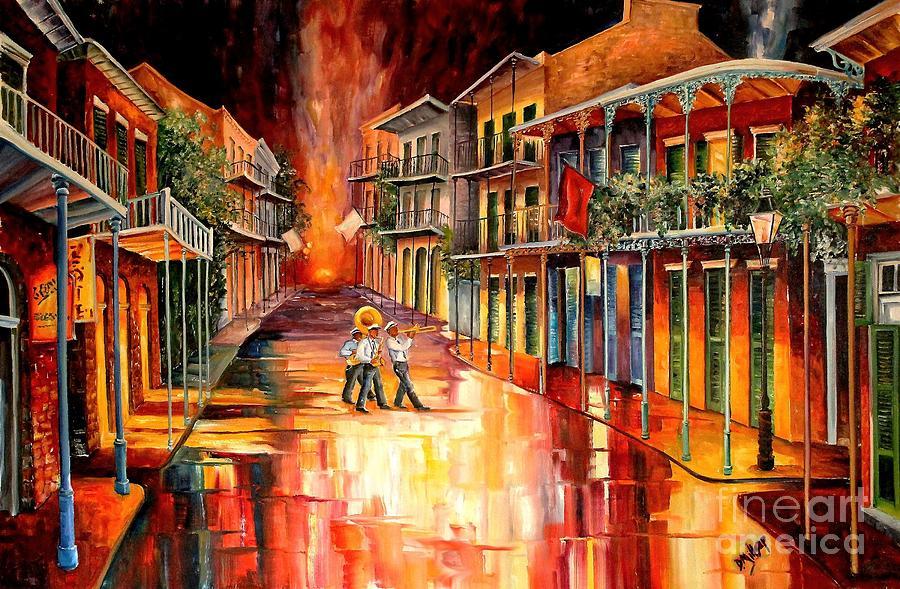 New Orleans Painting - Royal Street Serenade by Diane Millsap