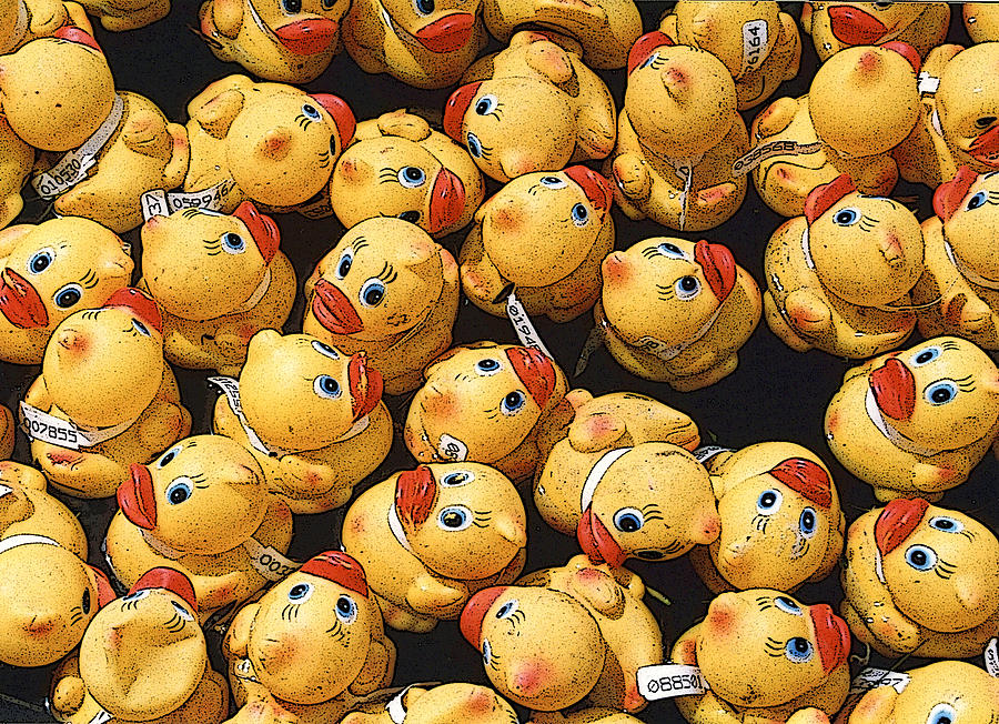 Beaks Photograph - Rubber Duckies Annual Race For Charity by Rob Huntley