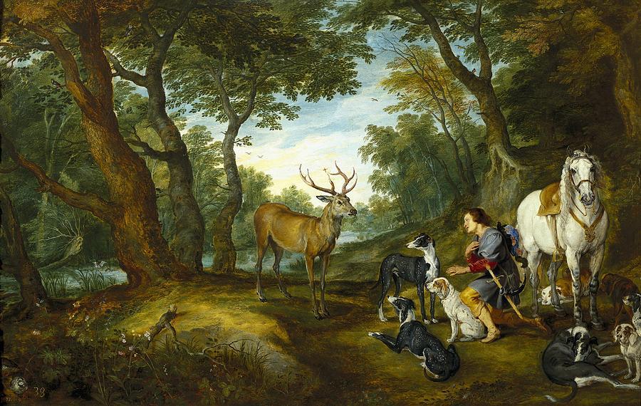 Horizontal Photograph - Rubens, Peter Paul 1577-1640 Breugel by Everett