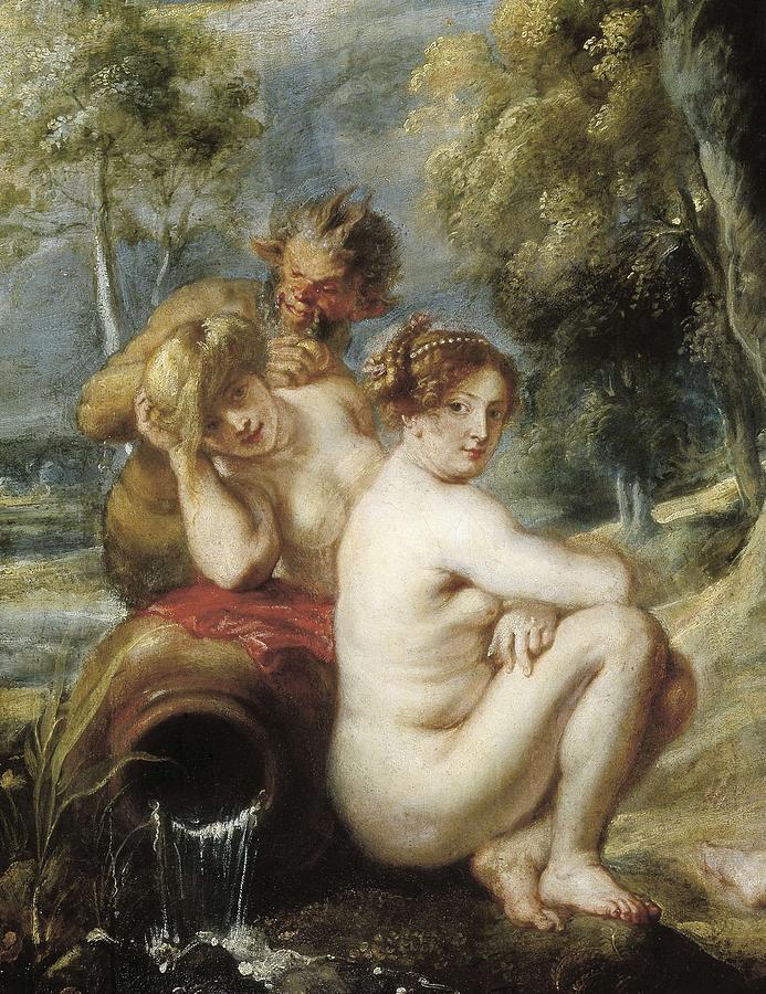 Vertical Photograph - Rubens, Peter Paul 1577-1640. Nymphs by Everett