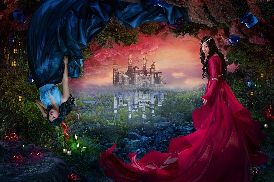 Fantasy Digital Art - Ruby by Cassiopeia Art