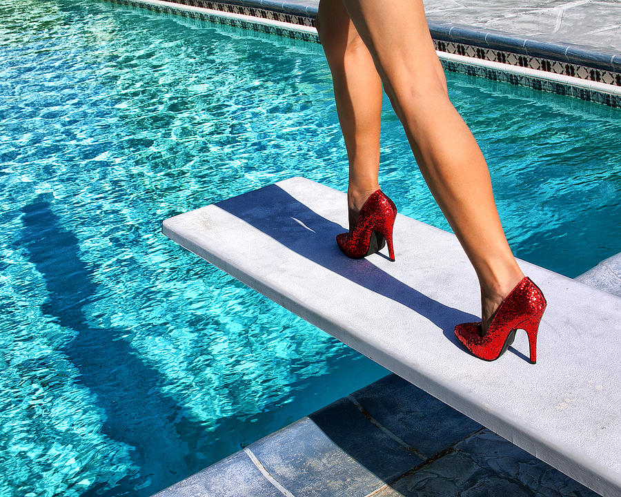 Featured Photograph - RUBY HEELS Ready for take-off Palm Springs by William Dey