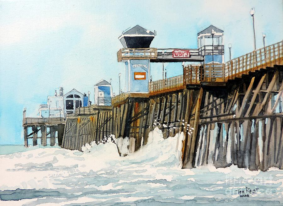 Pier  Canvas Paintings