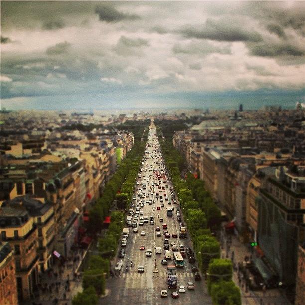 Europe Photograph - Rue De Paris! #france #paris #europe by Brian Governale