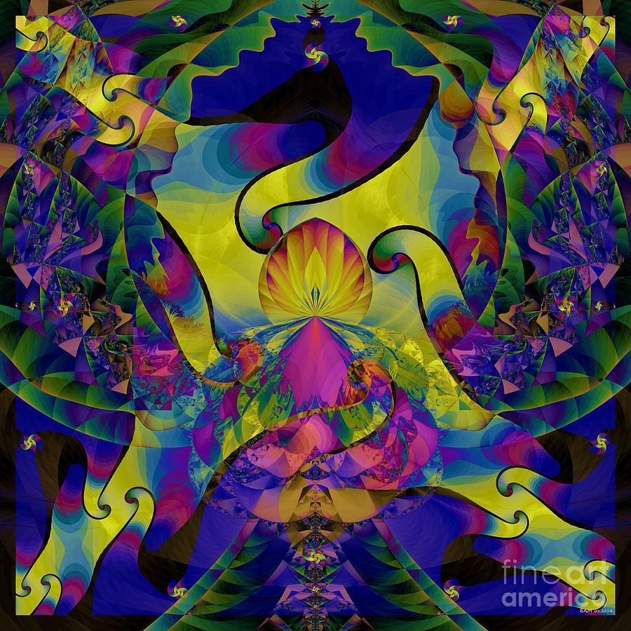 Ruffle Digital Art - Ruffle  by Elizabeth McTaggart