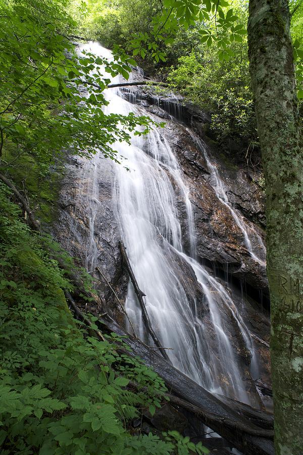 Rufus morgan falls north carolina waterfalls print for Morgan falls
