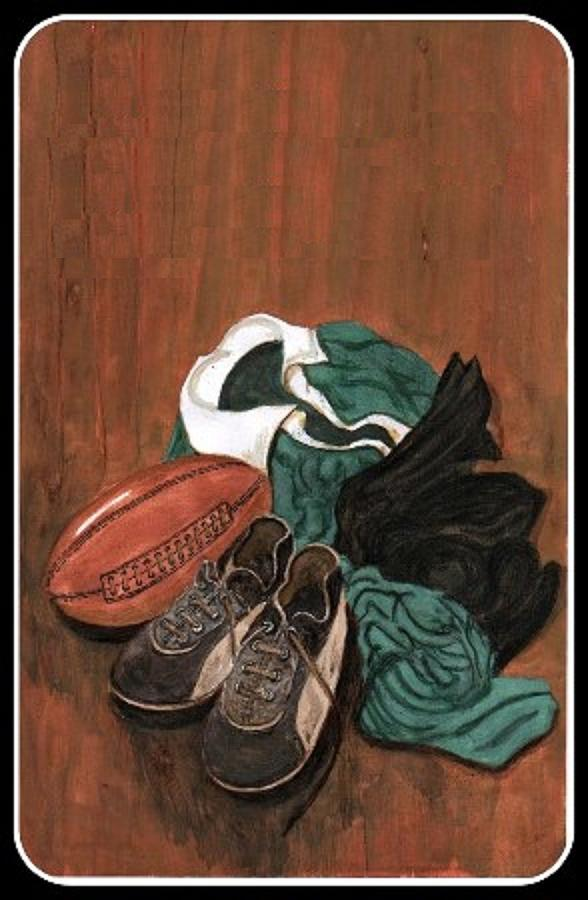 Rugby Painting - Rugby by Sam Mart
