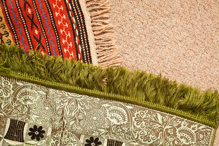 Africa Photograph - Rugs by Tom Gowanlock