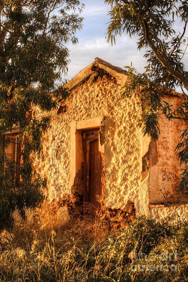 Sounion Photograph - Ruined Sounion House 8 by Deborah Smolinske